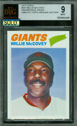 1977 Topps Loa 547 Willie Mccovey Proof Bgs 9 Mac Solo Finest Grade 046