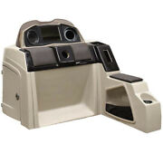Pontoon Boat Steering Console 180695-01 | 51 1/4 Inch Taupe Scratch