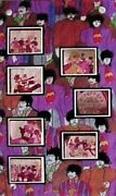 Beatles Sgt Pepper Band Yellow Submarine Seven Frame Film Display