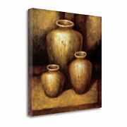 Remnants Of The Ages By Zenon Burdy Gallery Wrap Canvas 28 X 28