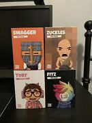 Fitz + Toby + Swaggersouls + Zuckles Misfits Youtooz