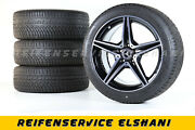 Original Mercedes Amg Roues Dand039hiver 18 Pouces Classe C 43 And 450 Amg A2054014800