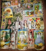 Huge Lot Of Wizard Of Oz Collectibles Porcelain Dolls Barbie Brand Pez And More