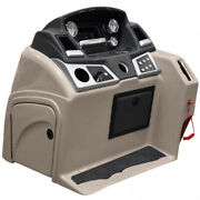 Ranger Pontoon Boat Steering Console | Reata W/ Gauges Taupe Tear