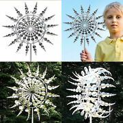 Unique And Magical Metal Windmill - Lawn Sculptures Move With The Wind Spinners