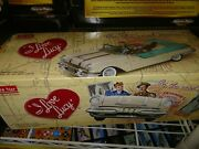 Sunstar 1/18 I Love Lucy 1955 Pontiac Star Chief Collectible With Accessories