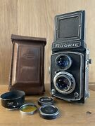 Opt Near Mint Yashica Rookie Tlr Yashimar 80mm F/3.5 Twin Lens From Japan