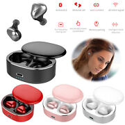 Bluetooth Wireless Earphones Stereo Hd Music Headsets Earbuds Noise Reduction