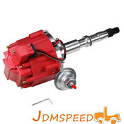Red Hei Distributor With 65k Coil For Amc/jeep 1967-90 290,304,343,360,390,401