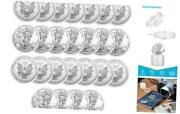 Coin Holder Silver Eagle Protector 40mm Id 25 Pack Plastic 40mm - 25 Pcs