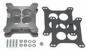 Trans Dapt 2049 2 Holley/afb 4-bbl Carburetor Spacer With Pcv