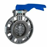 Hayward Byc1040e1lgb Pvc Lever Operated Byc Series Butterfly Valves, 4-inch