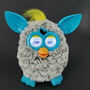 Hasbro 2012 Furby Boom Grey And Teal Blue Interactive Gray Rain Cloud Tested Works