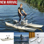 Portable Water Sport Bike Inflatable Kayak Sea Boat Pedal Water Bicycle Yacht