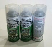 New Rust-oleum Ripple Effect Textured Glass Finish Lot Of 3 Discontinued