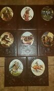Lot Of 8 Time-life The Old West Leatherette Books Cowboys,indians,gunfighters+