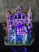 Lemax Spooky Town Halloween Village - Lighted Gothic Ruins - In Box-works, Vgc