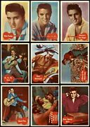 1959 A And Bc Elvis Presley Series Complete Set 4 - Vg/ex