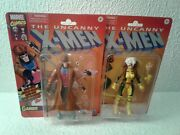 Marvel Legends Retro Collection Rogue And Gambit