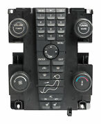 04-07 Volvo 30 40 50 Series Audio Control Module With Climate Controls 30739247