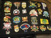 Lot Of 69 Cooperstown Dreams Park Baseball Pins Vintage 2007 And Carrying Bag