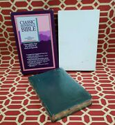 💚sealed💚 Niv 1984 Classic Reference Holy Bible - Green Bonded Leather - Oop 84