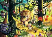 Jigsaw Puzzle Entertainment Wizard Of Oz Lions Tigers Bears Oh My 1000 Piece New