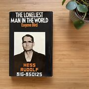 The Loneliest Man In The World Rudolf Hess Rare 1st Ed Hb 1974 Ww2 Book