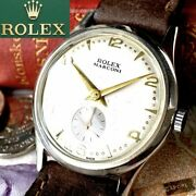 Luxury Rolex Marconi Oh Pre/ Off-white Dial 1910 Antique Menand039s Watches