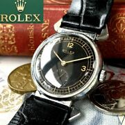 Luxury Rolex Marconi Oh Already 1960 Antique Menand039s Watches Black Dial Boys