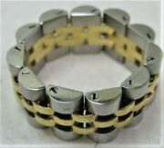 Duty-free Shops Tokyo Pawn Shop Oji-san Ring Made Of Rolex Pieces 69173k18ss