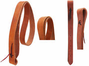 Horse Horse Amish Usa Western Saddle Harness Leather Off Billet And Tie Strap Set