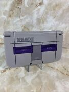 Used New Nintendo 3ds Xl Snes Edition With Stylus , Charger + Games