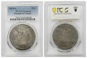 Pcgs Us Trade Dollar 1876 S San Francisco Mint Silver Coin Nice Toned Au
