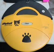 Irobot Dirt Dog 110 Robotic Sweeper - Barely Used - For Parts And/or Repair