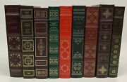 The Franklin Library Lot Of 9 Classic Books Leather Bound Ulysses Little Women
