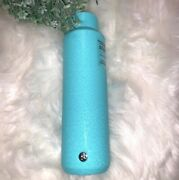 Starbucks Blue Icy Cry Aqua Water Bottle Tumbler Stainless Steel 20oz