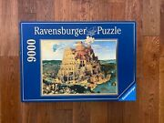 New 9000 Ravensburger The Tower Of Babel Jigsaw Puzzle By Pieter Bruegel