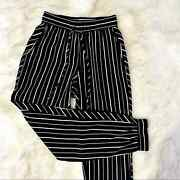 Nwt Walter Baker Striped Sumpter Jogger Trousers