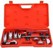 Icool Copper Aluminum Tubing Bender Kit Hand Tool 1/4 To 7/8 Inch With Tube For