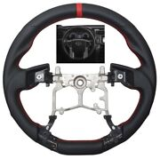 Revesol Sports Leather Steering Wheel For 14-21 Toyota Tundra Trd / 12-20 Tacoma