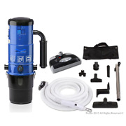 Prolux Central Vacuum System 15-amp Receptacle Full Indicator Bagless Blower