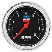 Auto Meter 880791 Officially-licensed Mopar Classic In-dash Tachometer 3 3/8 In.
