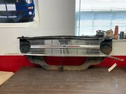 1965 Chevelle El Camino Grille Assembly W/ Valance Filler Radiator Support Trim