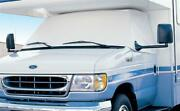 Adco 2407 Windshield And Window Cover For Ford 350 And 450 Rvs With Mirror Cutouts