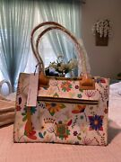 Disney Dooney And Bourke Flower And Garden Festival Tinkerbell Tote New Very Rare