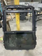 17 18 19 F250 F350 Superduty Sunroof Complete Panorama Assembly Burn Damage