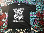Vintage Red Hot Chili Peppers Nirvana Pearl Jam Band Print Tee Shirt Mens Xl
