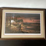 Terry Redlin Hunters Haven Ducks Unlimited Coors Country Classic Series Print