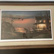 Special Memories By Terry Redlin Coors Country Farm 1989 Ducks Unlimited Signed